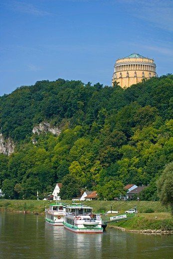 Stock Photo: 4286-70099 city of Kehlheim, Bavaria, Germany