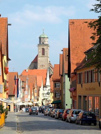 Stock Photo: 4286-70163 the historic city of Dinkelsbhl, Dinkelsbuehl, Bavaria, Germany