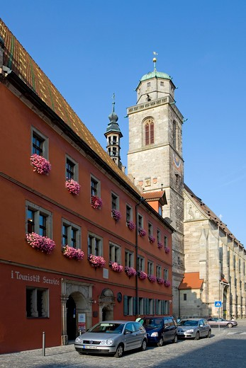 Stock Photo: 4286-70235 the historic city of Dinkelsbhl, Dinkelsbuehl, Bavaria, Germany