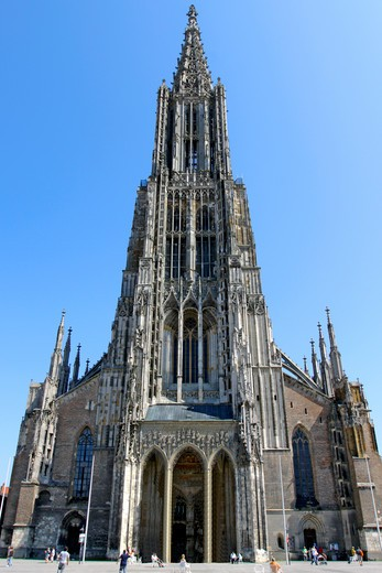 Stock Photo: 4286-70697 Germany Ulmer Muenster, Germany Ulm Minster
