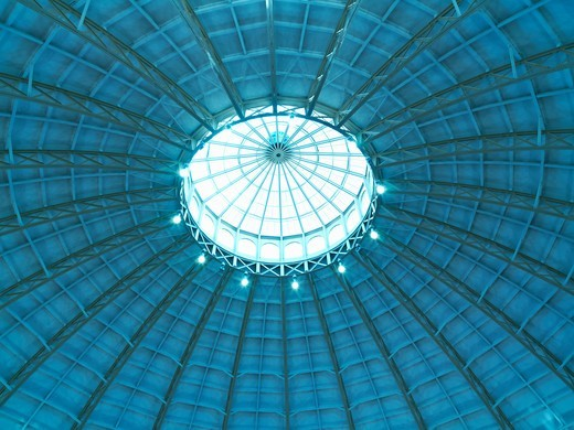Stock Photo: 4286-74349 United Kingdom Buxton University of Derby,Devonshire Dome the largest unsupported dome in Britain at 150 feet in diameter