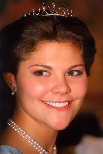 Crown Princess Victoria of Sweden, : Stock Photo