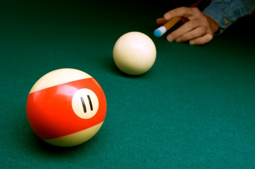 Billiard still life : Stock Photo