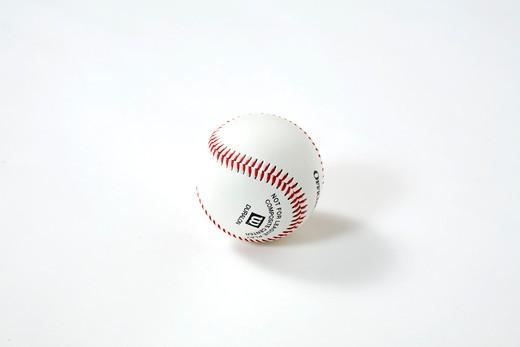 Stock Photo: 4286-83532 Baseball against white background, studio shot