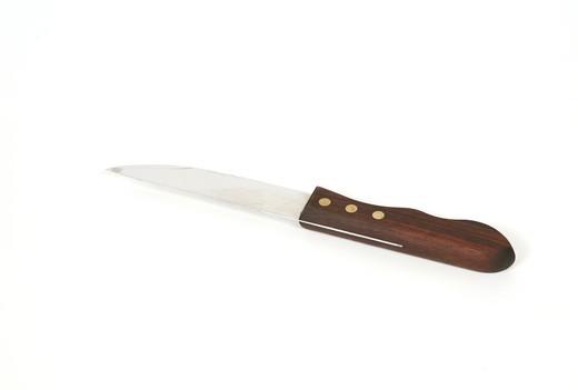 Stock Photo: 4286-83609 Knife against white background