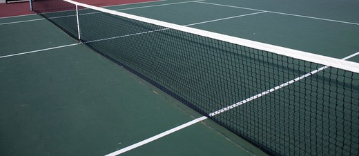 Stock Photo: 4286-83613 Tennis court