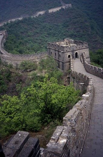 Stock Photo: 4286-83724 China, the great wall