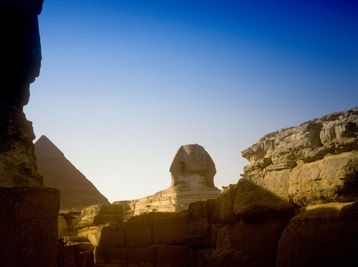 Stock Photo: 4286-83735 Egypt, Sphinx