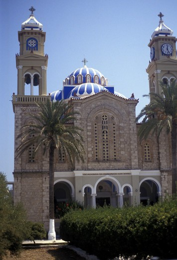 Stock Photo: 4286-83842 Greece, Samos church