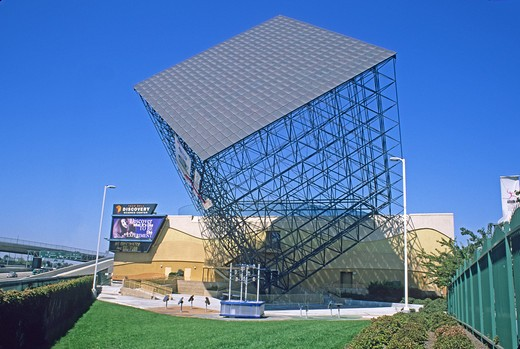 Stock Photo: 4286-84719 Taco Bell Discovery Science center Santa Ana California