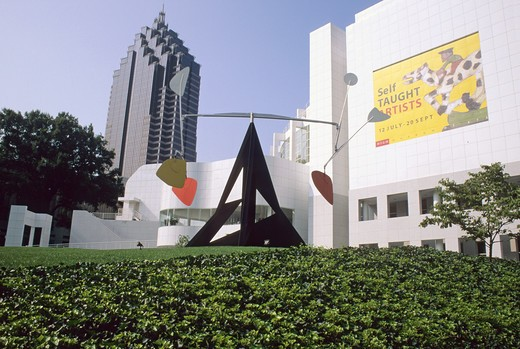 Stock Photo: 4286-84993 High Museum of Art Atlanta Georgia