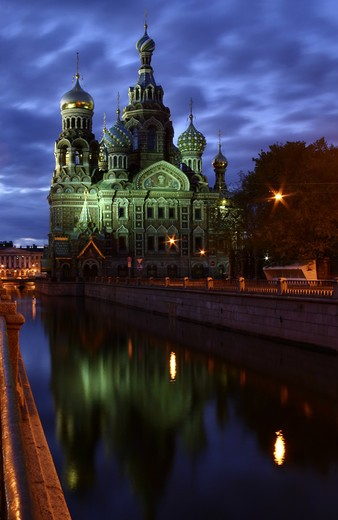 Stock Photo: 4286-86086 The Church of the Savior on Blood, also called the Resurrection church, Saint Petersburg, Russia