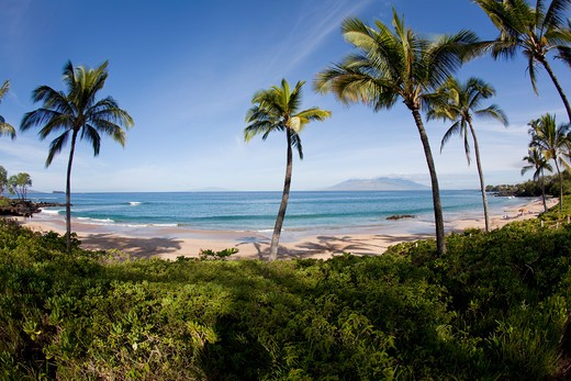 Stock Photo: 4286-87298 Maluaka Beach, Makena, Maui, Hawaii