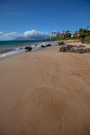 Polo Beach, Wailea, Makena, Maui, Hawaii : Stock Photo