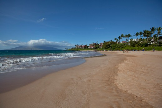 Stock Photo: 4286-87342 Polo Beach, Wailea, Makena, Maui, Hawaii