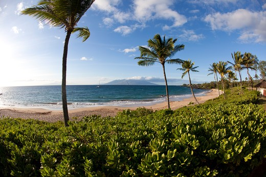 Stock Photo: 4286-87355 Maluaka Beach, Makena, Maui, Hawaii