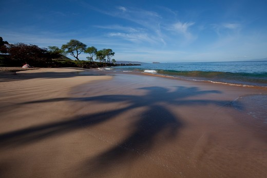 Stock Photo: 4286-87377 Maluaka Beach, Makena, Maui, Hawaii