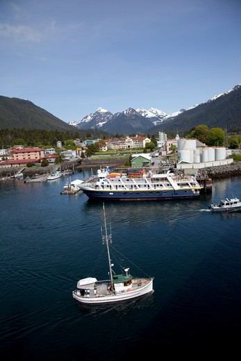Stock Photo: 4286-87830 Sitka, Southeast, Alaska