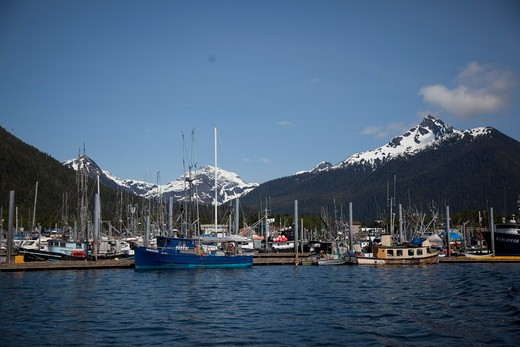 Sitka, Southeast, Alaska : Stock Photo