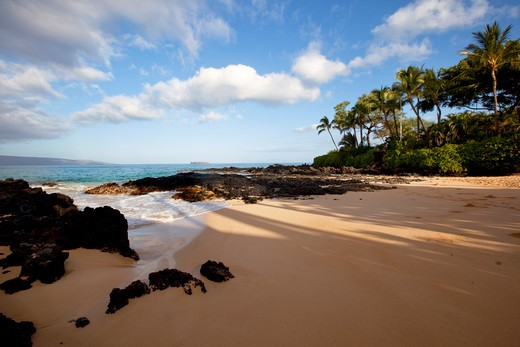 Stock Photo: 4286-88089 Pa'ako Beach, Makena, Maui, Hawaii