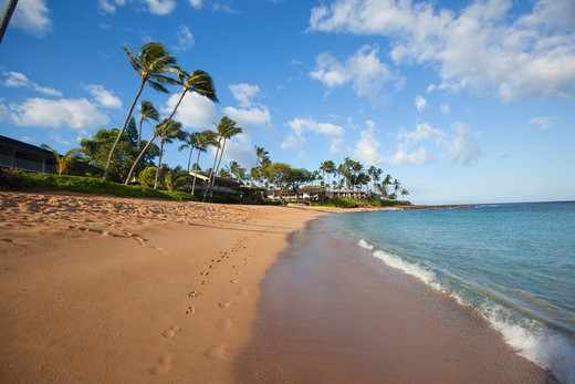 Stock Photo: 4286-88146 Napili Bay, Maui, Hawaii