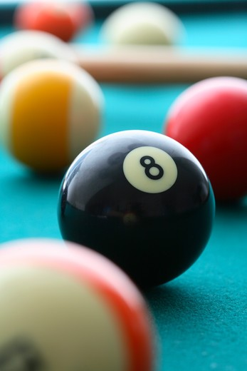 Pool balls : Stock Photo