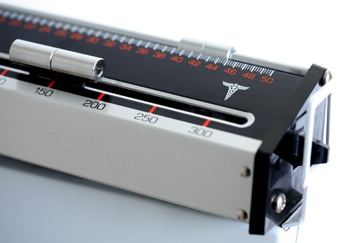 Stock Photo: 4286R-7033 Doctor scale detail