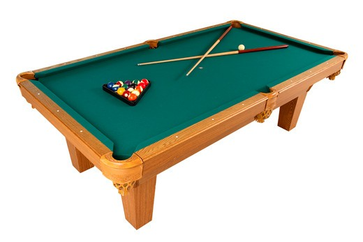 Stock Photo: 4286R-7034 Pool table