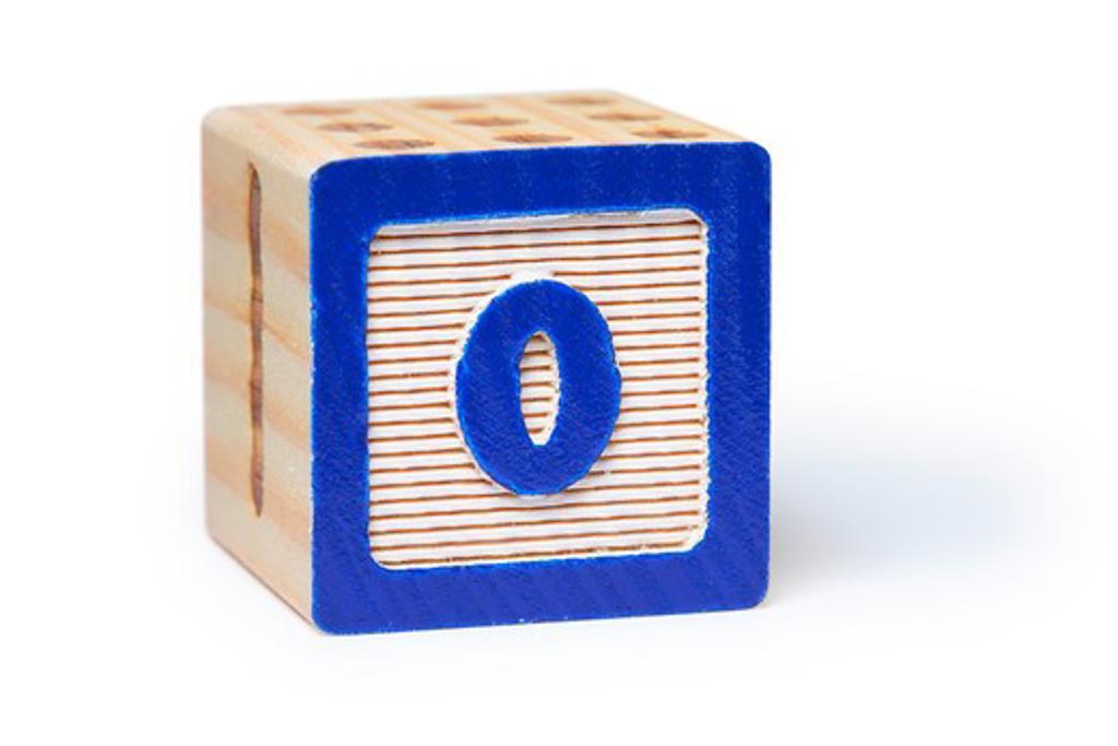 Zero block : Stock Photo