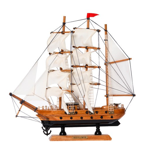 Stock Photo: 4286R-8446 Model ship