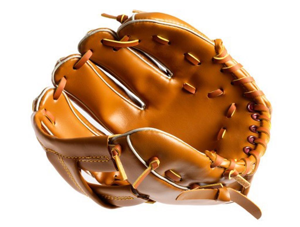 Stock Photo: 4286R-8486 Baseball mitt