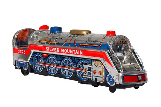 Stock Photo: 4286R-8642 Toy train