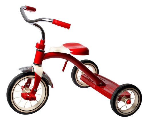 Stock Photo: 4286R-8652 Tricycle