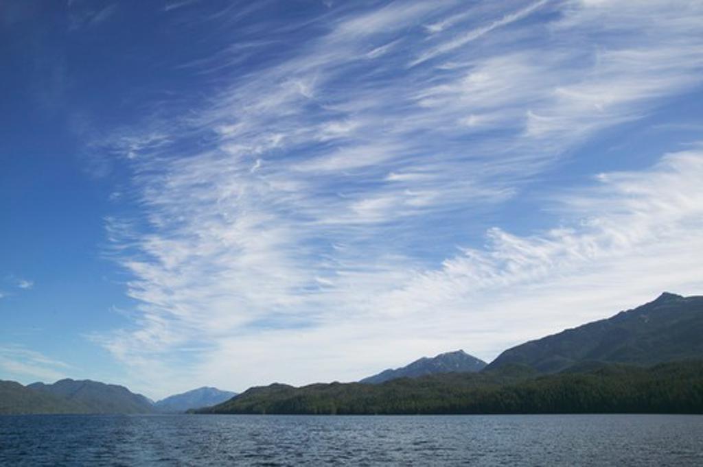 Stock Photo: 4286R-9879 Princess Royal Island, Outer Passage, North Coast, British Columbia Canada  -