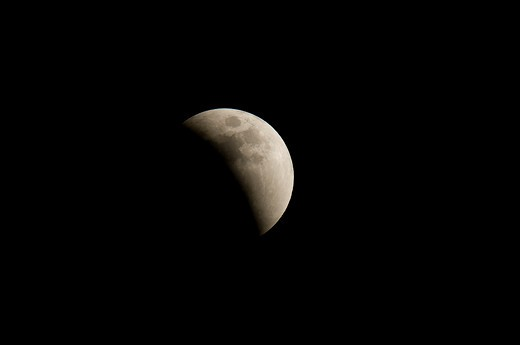 Stock Photo: 4288-1707 Lunar eclipse