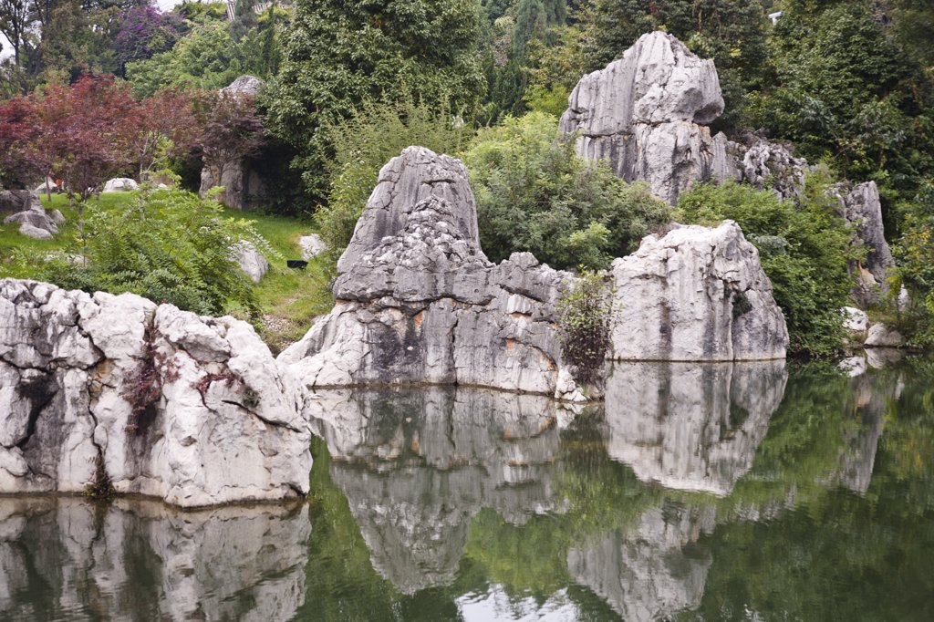 Stock Photo: 4290-1182 Shilin, Stone Forest, Shilin Yi, near Lunan and Kunming, Yunnan Province, China