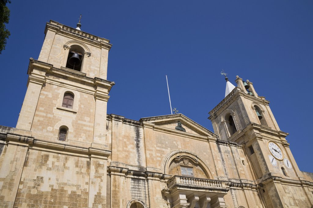 Stock Photo: 4290-1249 Saint John's Catholic Cathedral, Saint John's Square, Valletta, Malta