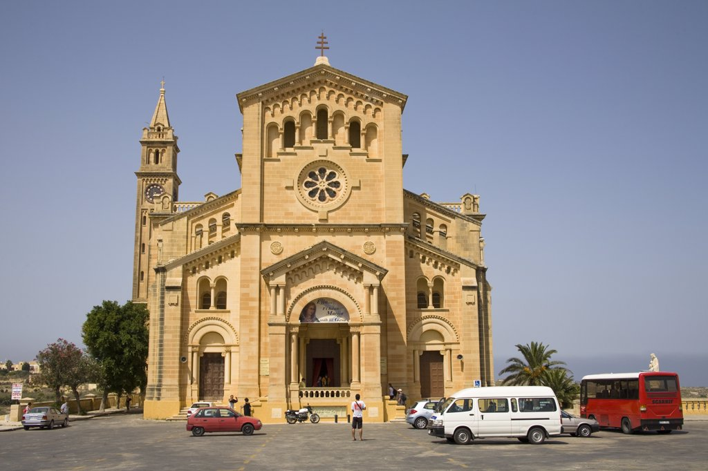 Ta Pinu Basilica, Gharb, Gozo, Malta : Stock Photo