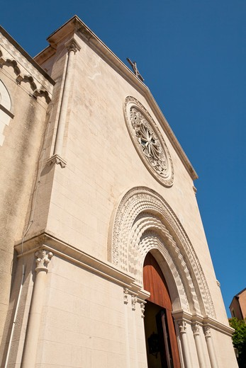 Stock Photo: 4290-1595 Castelmola Cathedral, Piazza Duomo, Castelmola, Sicily, Italy