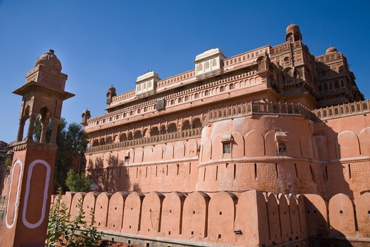 Stock Photo: 4290-1786 Junagarh Fort, Bikaner, Rajasthan, India