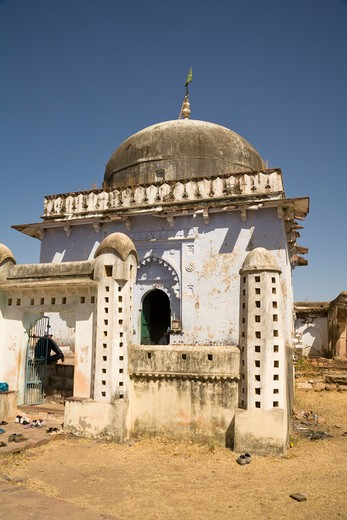 Stock Photo: 4290-2169 The Dargah, in Ranthambhore Fort, Ranthambhore National Park, Rajasthan, India