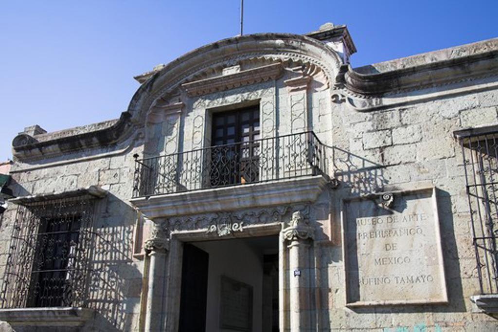 Stock Photo: 4290-2181 Museo de Arte Prehispanico de Mexico Rufino Tamayo, Calle Morelos, Oaxaca, Oaxaca State, Mexico
