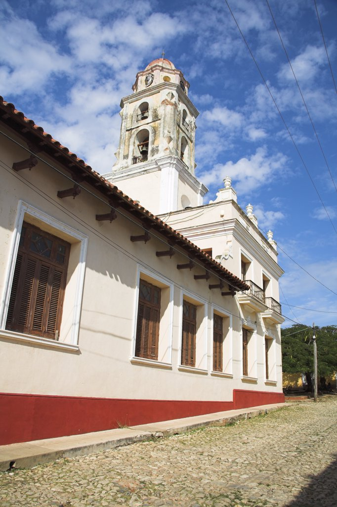 Museo Nacional de la Lucha Contra Bandidos, Trinidad, Sancti Spiritus Province, Cuba : Stock Photo