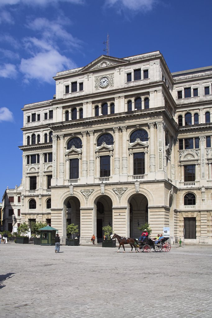 Stock Photo: 4290-2945 Lonja del Comercio de la Habana, Plaza de San Francisco, Havana, La Habana Vieja, Cuba