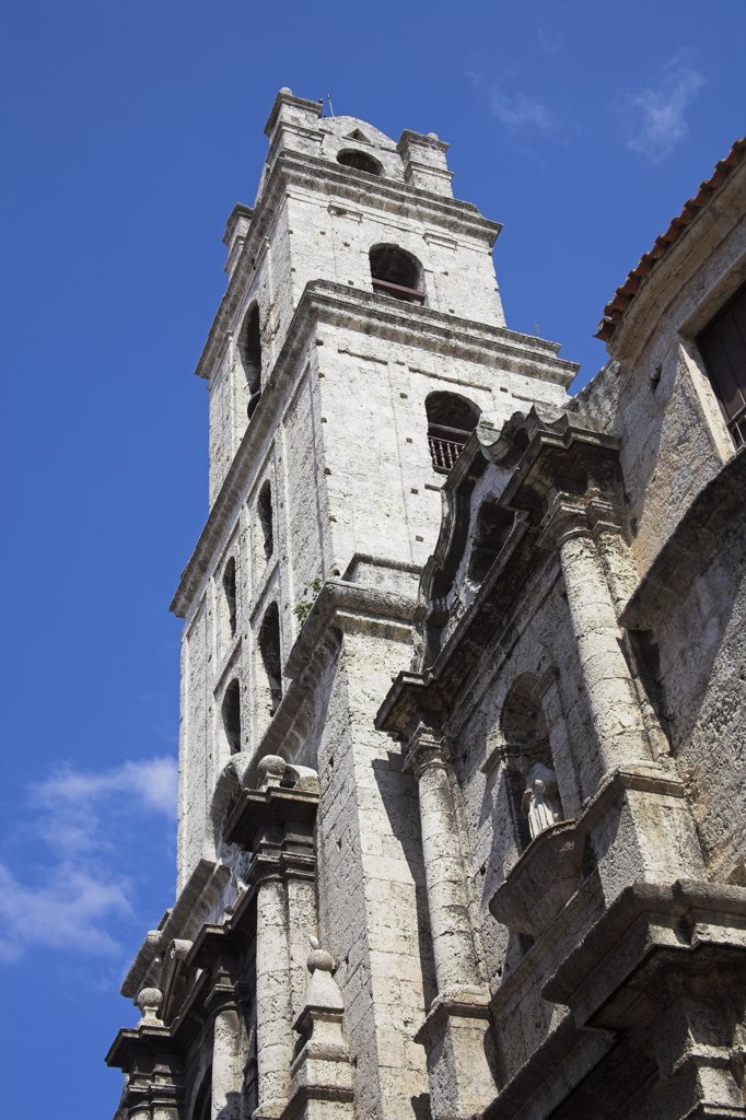Iglesia de San Francisco de Asis, Plaza de San Francisco, Havana, La Habana Vieja, Cuba : Stock Photo