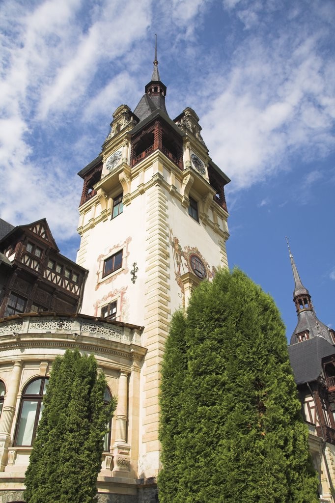 Stock Photo: 4290-3143 Peles Castle, Sinaia, Prahova Valley, Transylvania, Romania