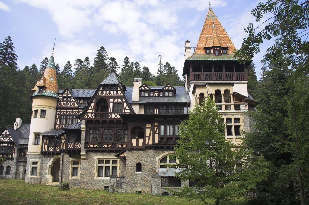 Stock Photo: 4290-3148 Pelisor Palace, Sinaia, Prahova Valley, Transylvania, Romania