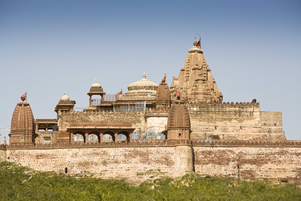 Stock Photo: 4290-3409 Sachiya Mata Temple, Osian, near Jodhpur, Rajasthan, India