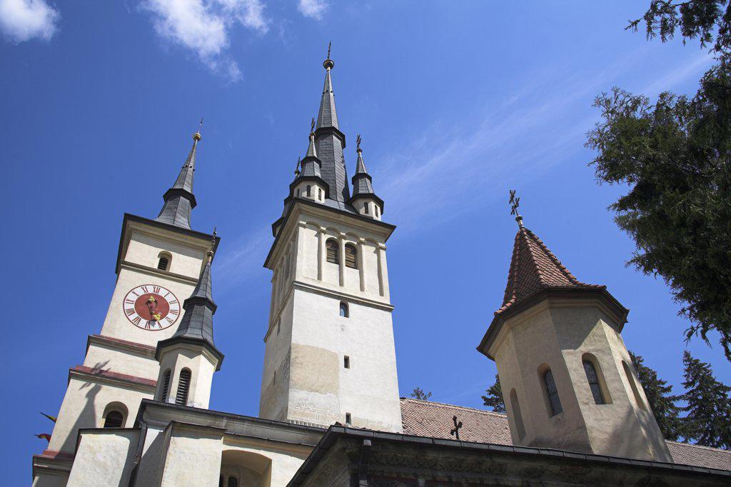 Stock Photo: 4290-3413 Saint Nicholas Orthodox Cathedral, St Nicolae Din Scheii, Piata Unirii, Brasov, Transylvania, Romania