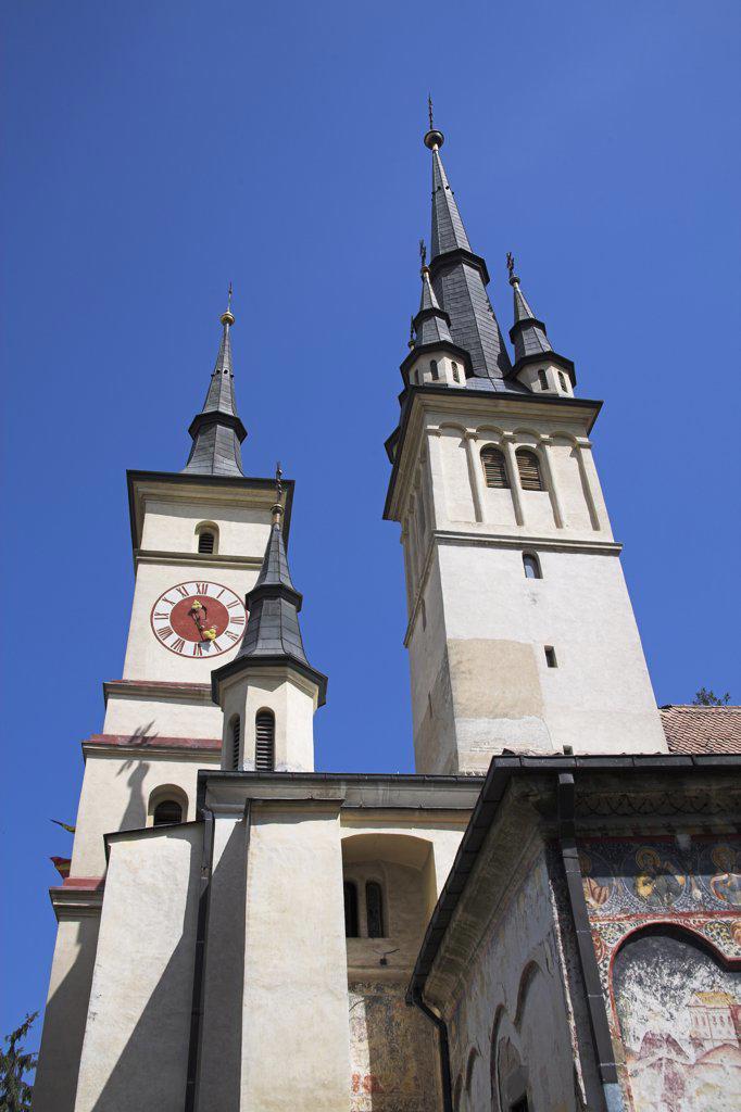 Stock Photo: 4290-3419 Saint Nicholas Orthodox Cathedral, St Nicolae Din Scheii, Piata Unirii, Brasov, Transylvania, Romania